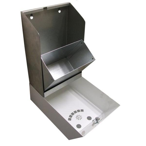 Ref: 0022 - open cigarette bin