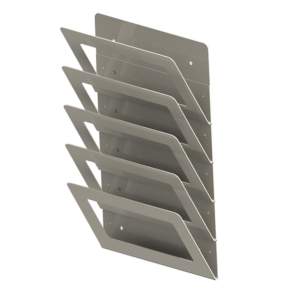 Ref 0043 - Magazine Wall Racks