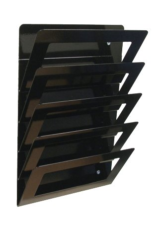 Wall Mounted Magazine Rack Steel Magazine Rack A Amp R