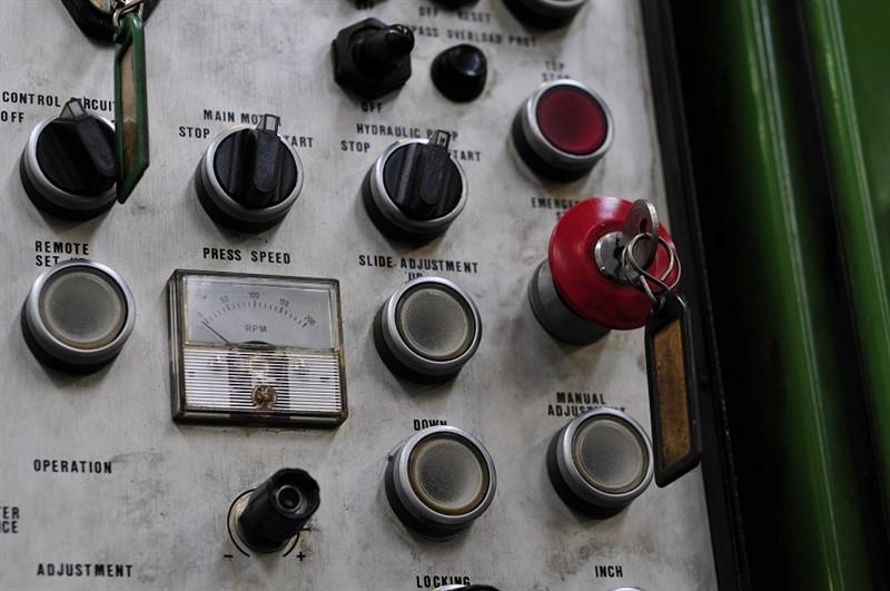 Power press controller