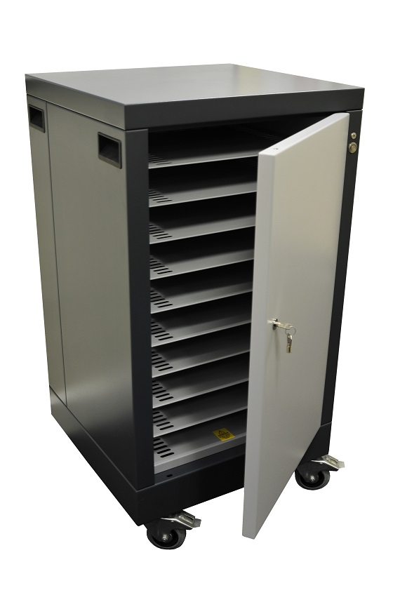 Grey cabinet assembly
