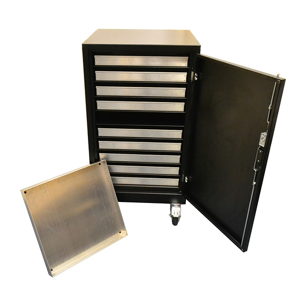 Ref 0004 - Cabinet with trays
