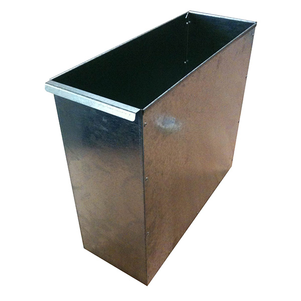 Ref 0039 - Galvanised bins