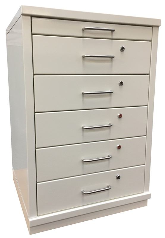 Ref: 0062 - 5 draw cabinet + retractable work surface
