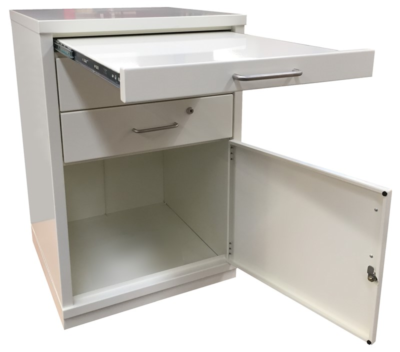 Ref: 0063 - 2 draw cabinet + retractable work surface