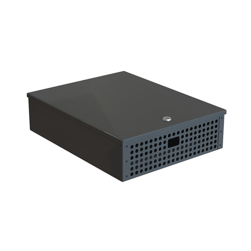 Secure computer case